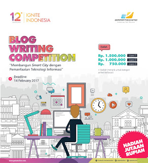 Lomba Menulis Blog Hadiah Jutaan - Blog Writing Competition Gamatechno