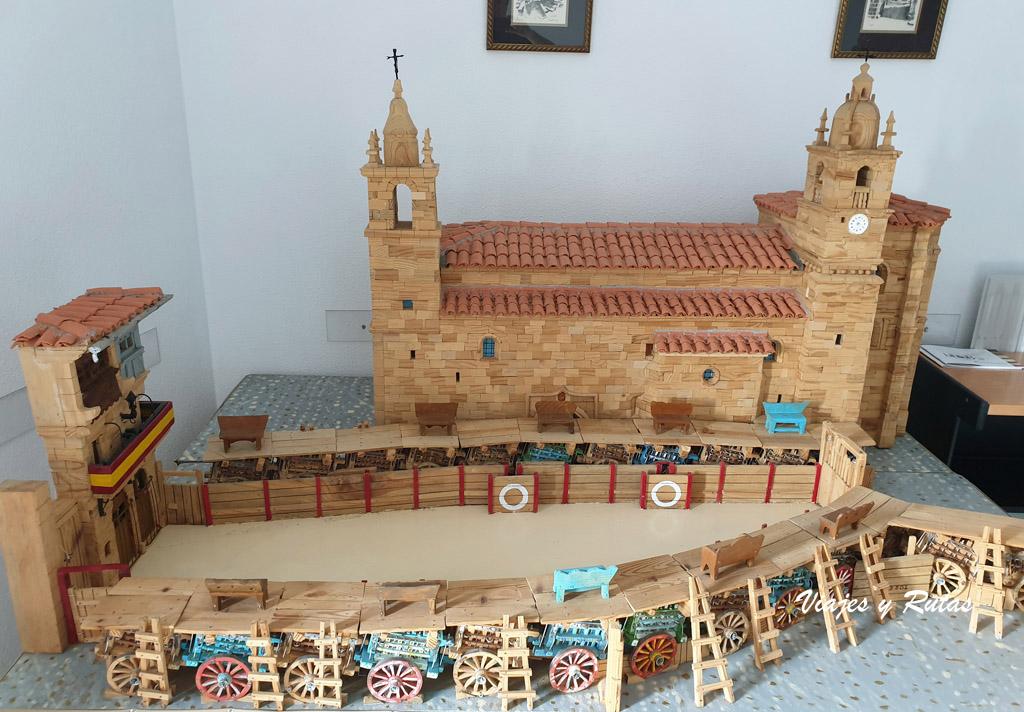 Maqueta de El Noveno, San Felices de los Gallegos