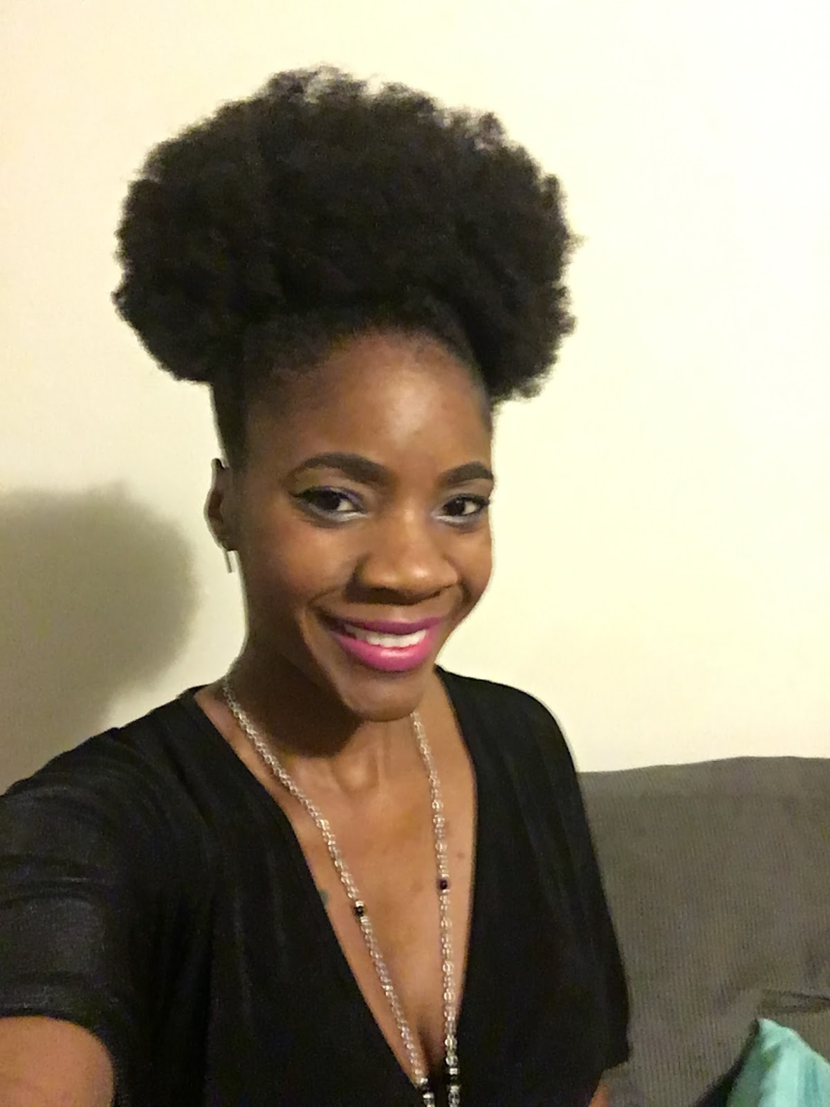 6footlonghair 6 Ways To Style An Afro Puff 4c Natural Hair