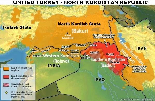 The history of turkish occupation in northern kurdistan