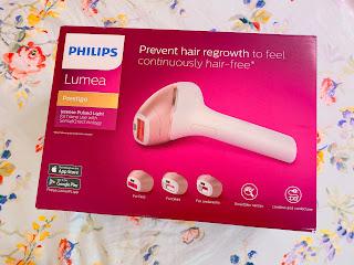 試用分享~Philips Lumea Prestige家用彩光脫毛機