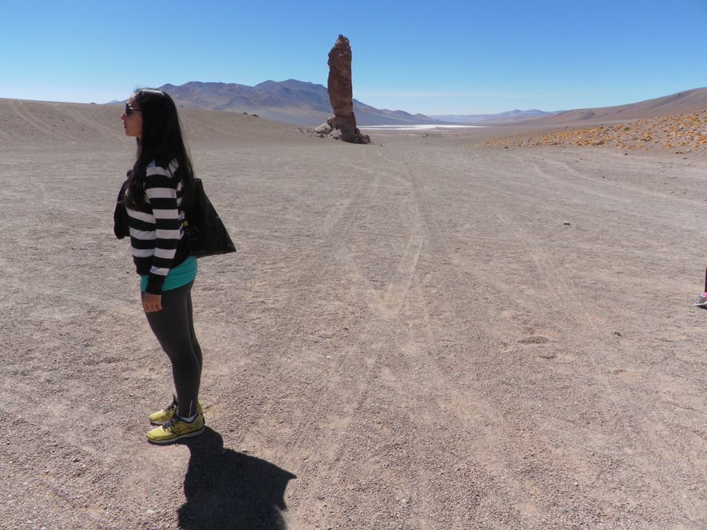 Monjes de la Pacana no Atacama