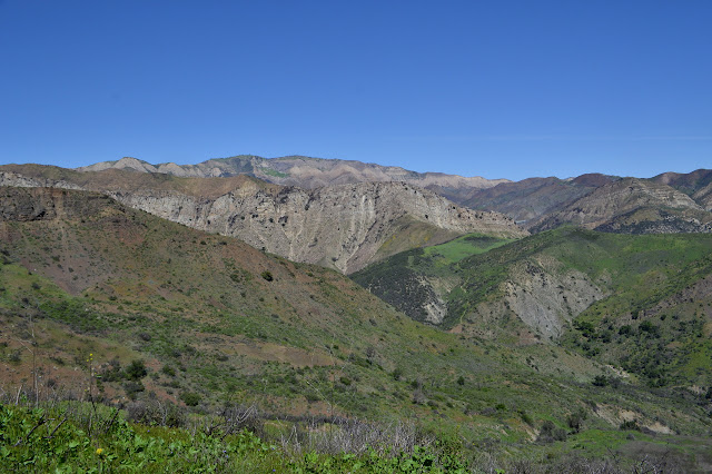 Aliso Canyon Trail across the way