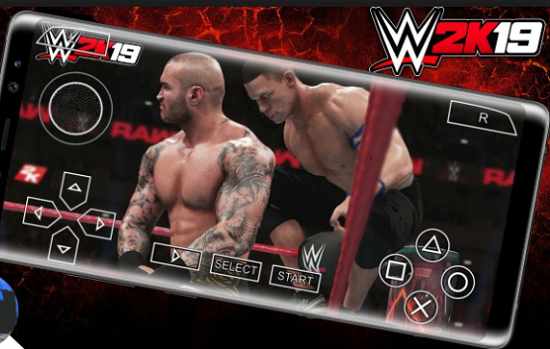 Download WWE 2K19 MOD PPSSPP