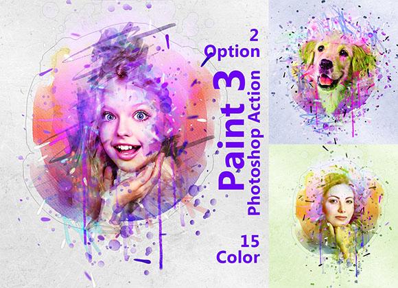 Paint Photoshop Action - Tạo hiệu ứng sơn cực đẹp