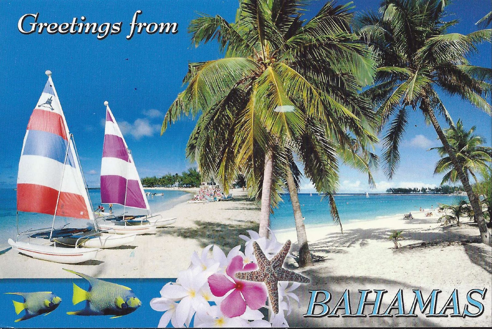 A Journey Of Postcards Greetings From Bahamas