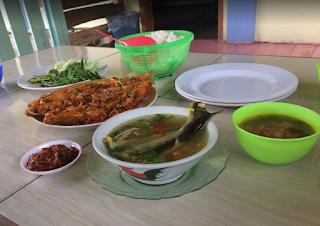 menu RM Lesehan Keramba Apung Tulang Bawang Barat