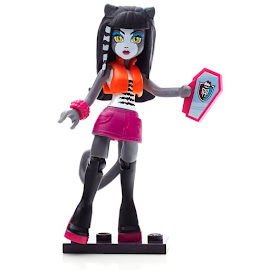 MH Ghouls Skullection 1 Purrsephone Mega Blocks Figure