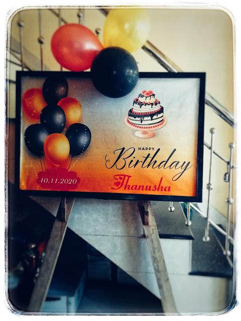 Birthday Party Board Kerala