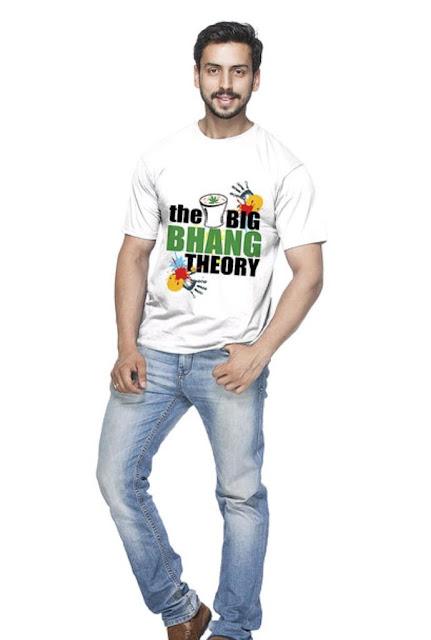 Men's Holi T-shirt
