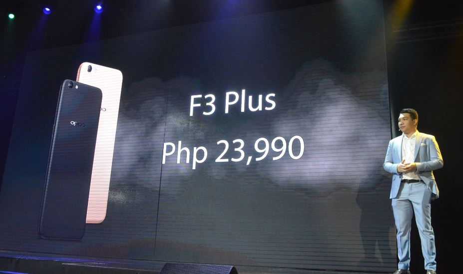 OPPO F3 Plus official pricing in the Philippines revealed.