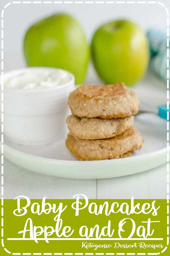 Baby Pancakes Apple and Oat