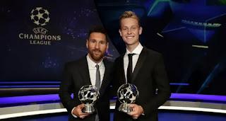 De Jong reveals 'Messi was one of the reasons he chose Barca