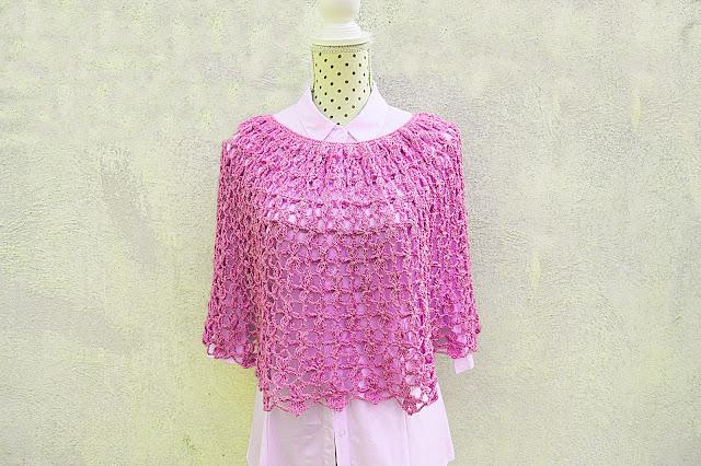 6 - Crochet Imagen Capa para mujer a crochet y ganchillo por Majovel crochet