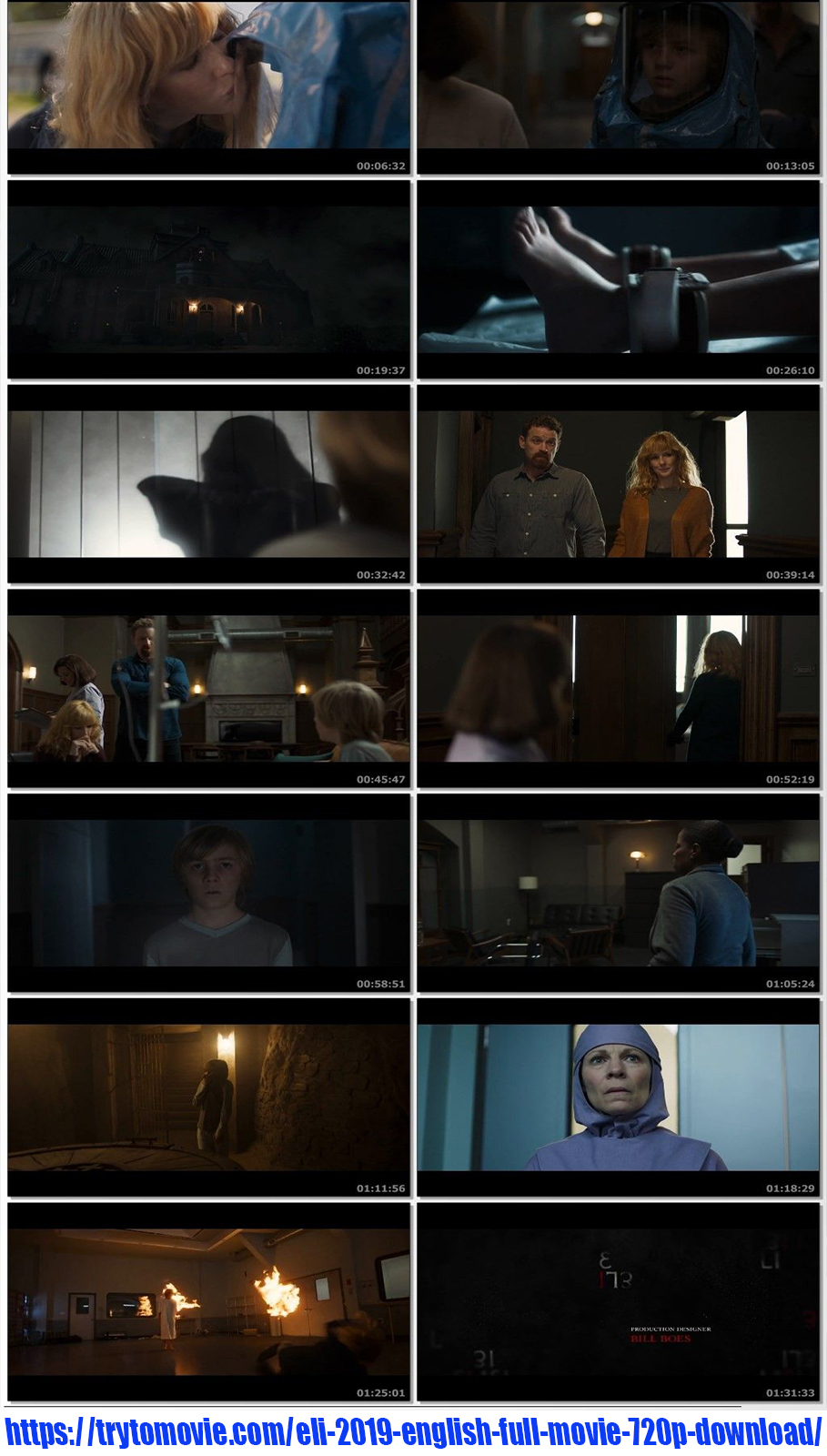 Eli 2019 English Full Movie 720p Download