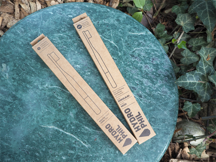 Hydrophil Bambus-Zahnbürste extra weich