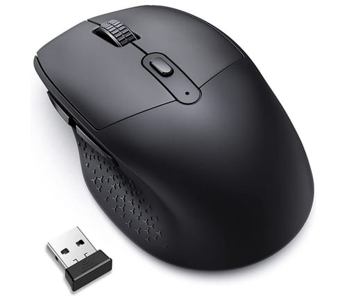 Vic Tech CA Ergonomic Silent Wireless Computer Mouse