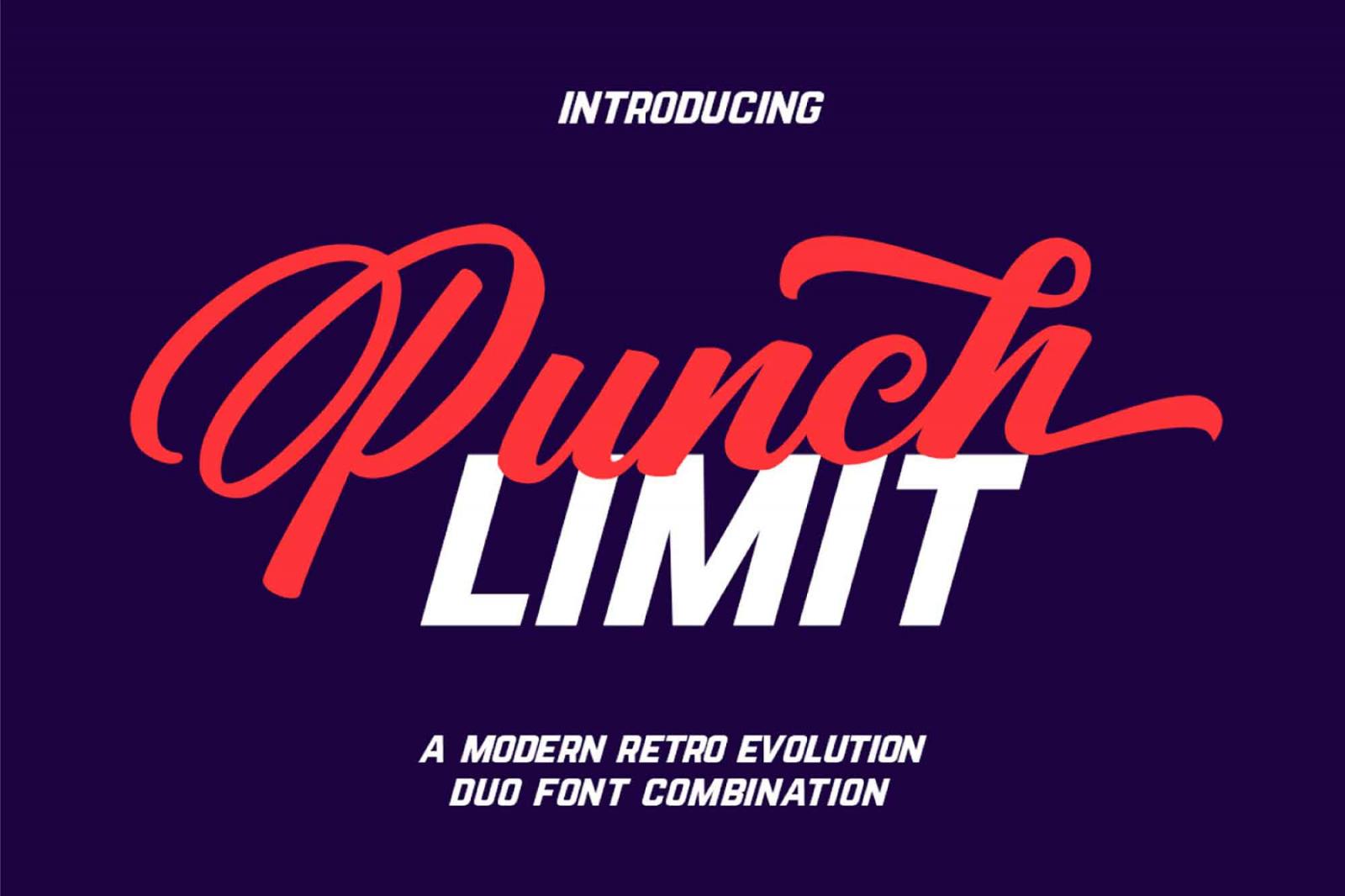 Punch Limit Free Script Font