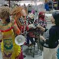 Libatkan Seniman Bondres  Bagikan 1200 Masker, Rai Mantra dan Kemenparekraf RI Kampanye Gerakan Pakai Masker.