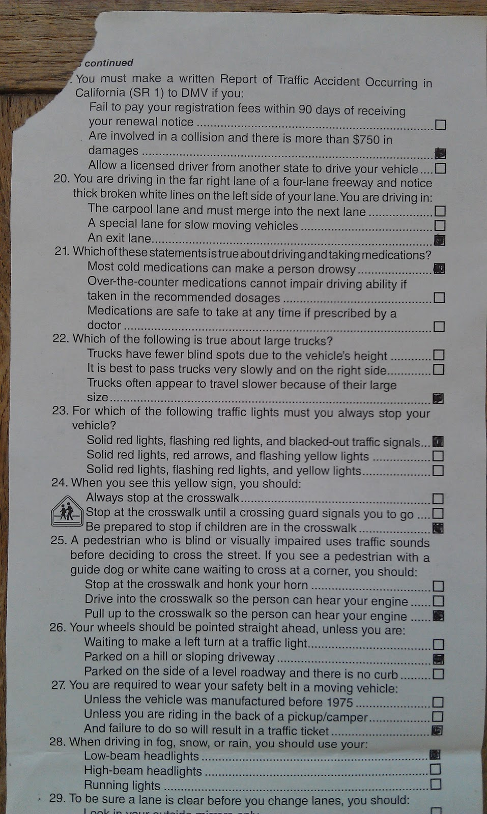 The Uphill Struggle For Freedom California Dmv Drive Permit Written Test
