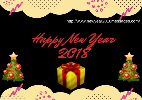 Happy New Year 2018 Advance