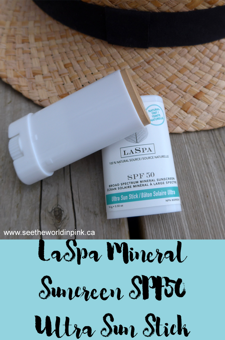 LaSpa Naturals Mineral Sunscreen - SPF50 Ultra Sun Protection Stick