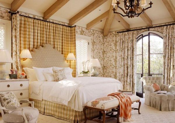Kamar tidur tradisional menarik