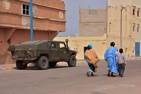 Armamento español ha sido visto en el Sáhara Occidental ocupado en ...