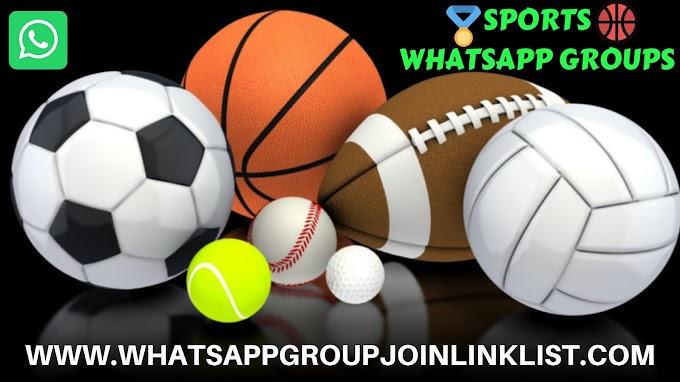 Sports WhatsApp Group Join Link List