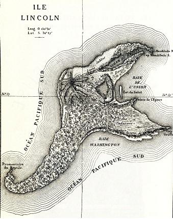 A rejtelmes sziget térképe