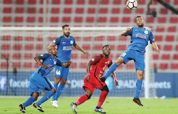 بث مباشر مباراة شباب الأهلي دبي والنصر اليوم 06-03-2020 في الدوري الإماراتي