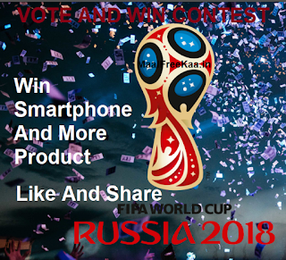 Football World Cup 2018 Contest Vote Win