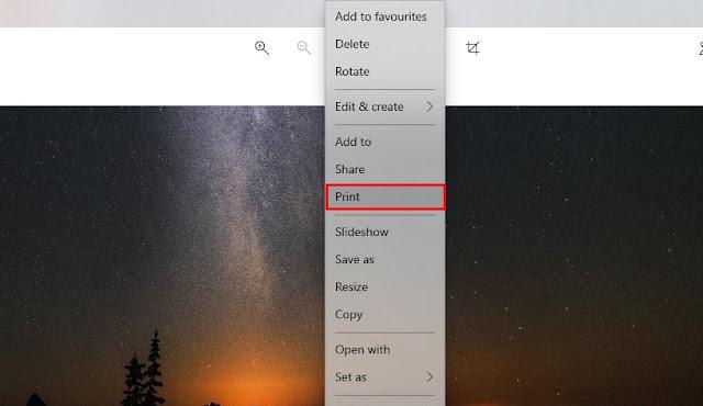 Mengonversi JPG ke PDF di Windows 10