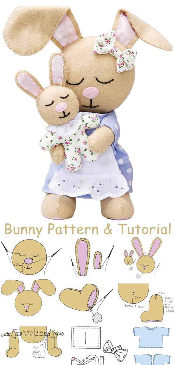 How to make the Bunnies. DIY Tutorial