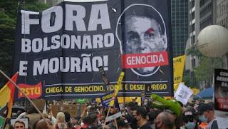 Người Brazil biểu tình đòi luận tội Tổng thống Bolsonaro