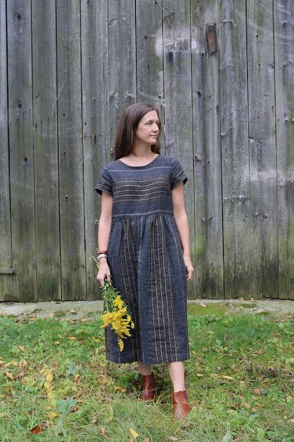 SweetKM Hinterland Dress Sewing Pattern Sew Liberated