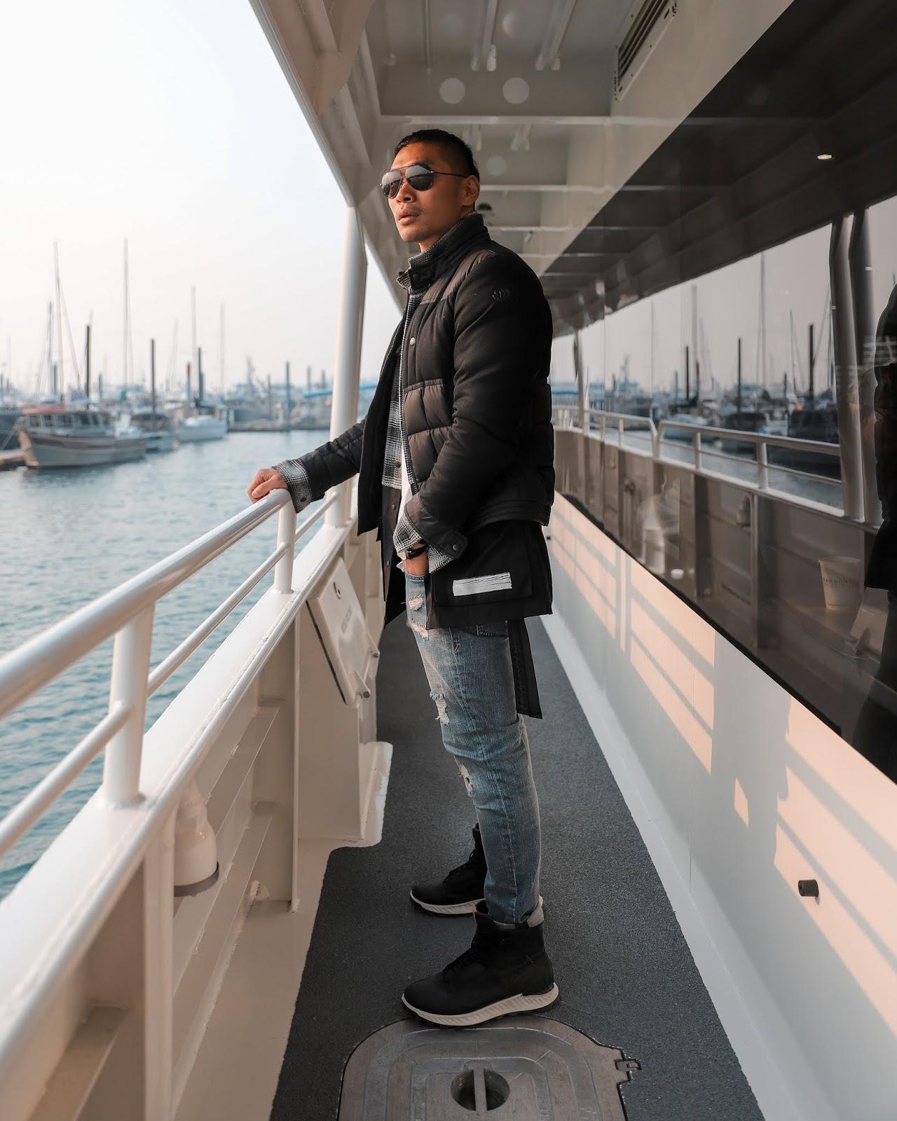 Major Marine Tour, Leo Chan