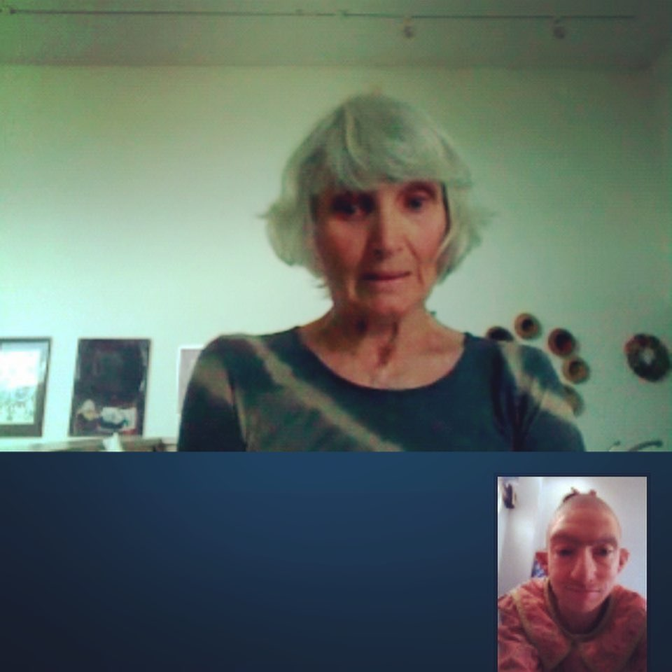 Naomi Grossman News: That time I Skyped my mom as Pepper