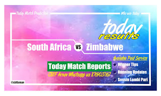 Today Match Prediction South Africa vs Zimbabwe 1st ODI