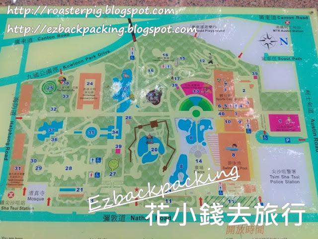 九龍公園地圖