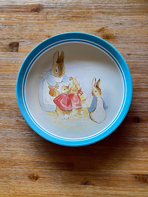 Easter Bunny Tray