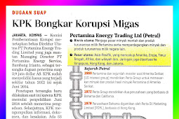 KPK Revealed Oil and Gas Corruption