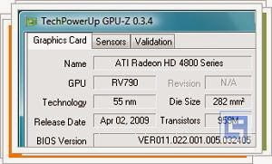 TechPowerUp GPU-Z 0.7.8 Download