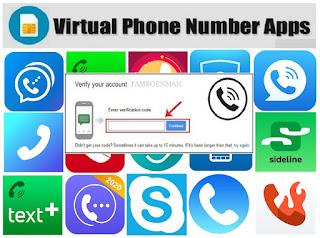 Top 15 Aplikasi Nomor Telepon Virtual Untuk Verifikasi Akun