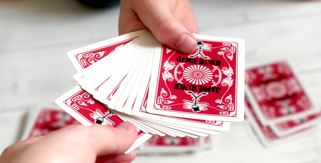 Jamie Raven Card Tricks set