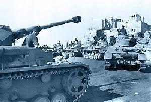 Tanques alemães entram em Atenas