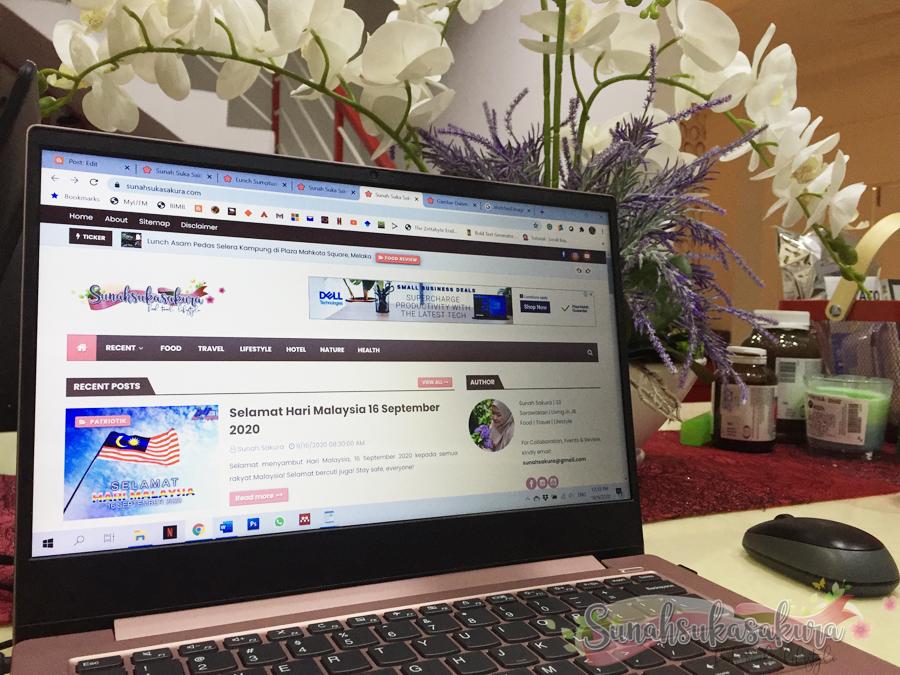 Tukar Template Baru, Entri Pertama Guna Dashboard Blogger Baru 2020