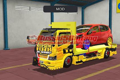 Mod Bussid Truck Canter TE Muatan Honda Jazz