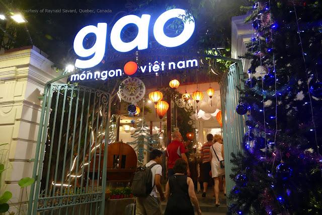 Nhà hàng Gạo tại Hồ Chí Minh