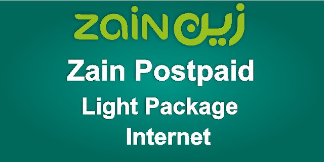 Light postpaid Zain internet package KSA